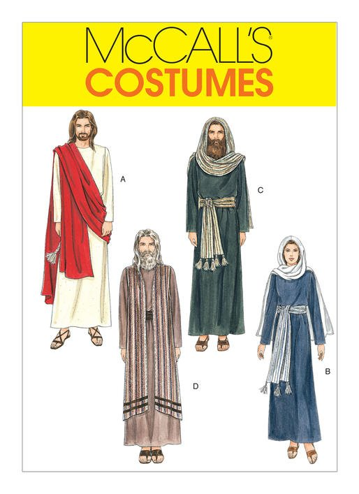 McCall's Pattern - Passion Play Costumes M2060