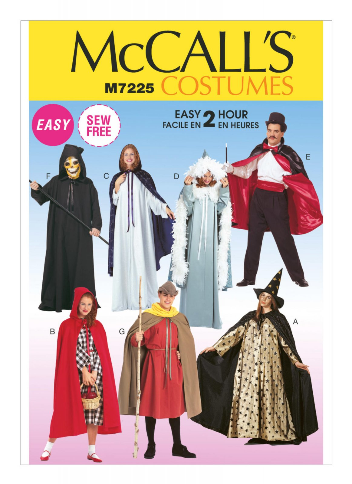 McCall's Pattern - Costume Capes M2853