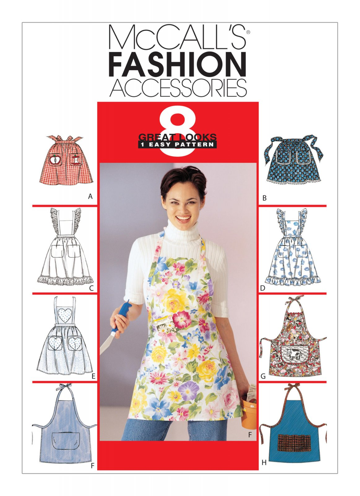 McCall's Pattern - Patch-Pocket Aprons M2947