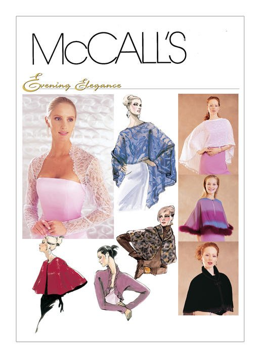 McCall's Pattern - Misses' Capelets and Shrug Boleros M3033