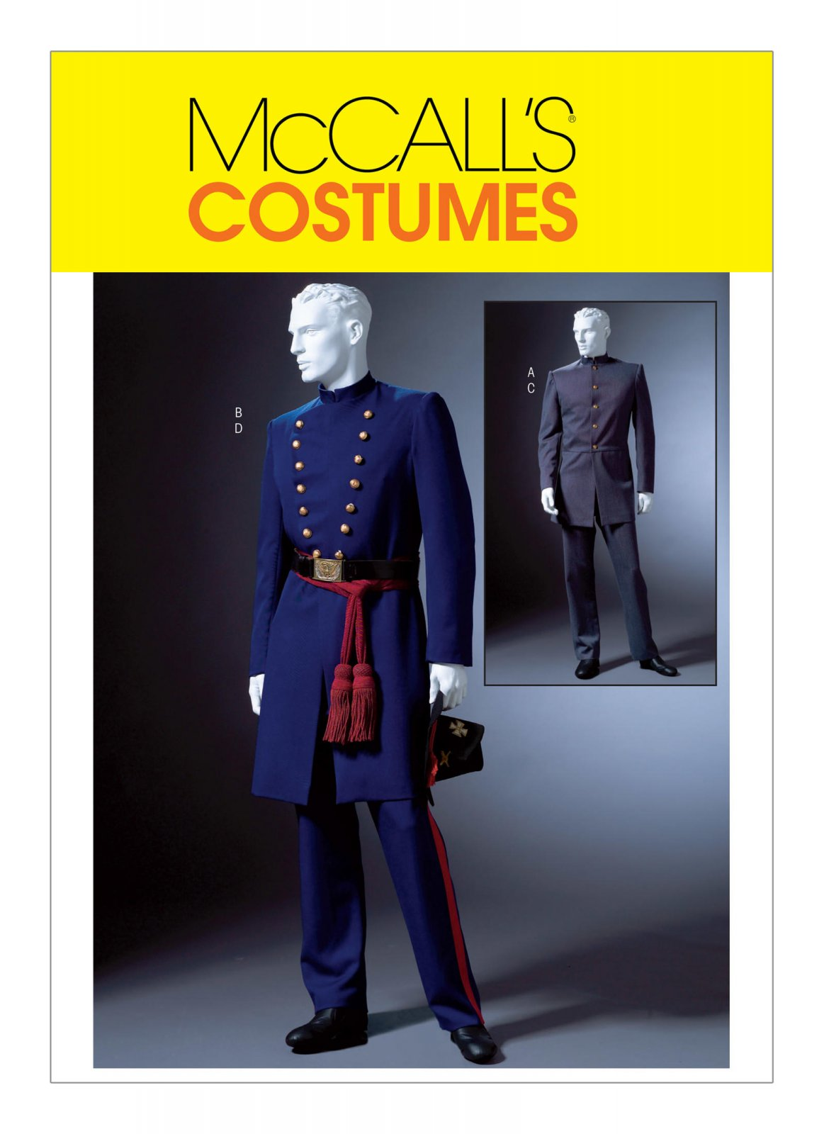 McCall's Pattern - Civil War Coat and Trousers M4745