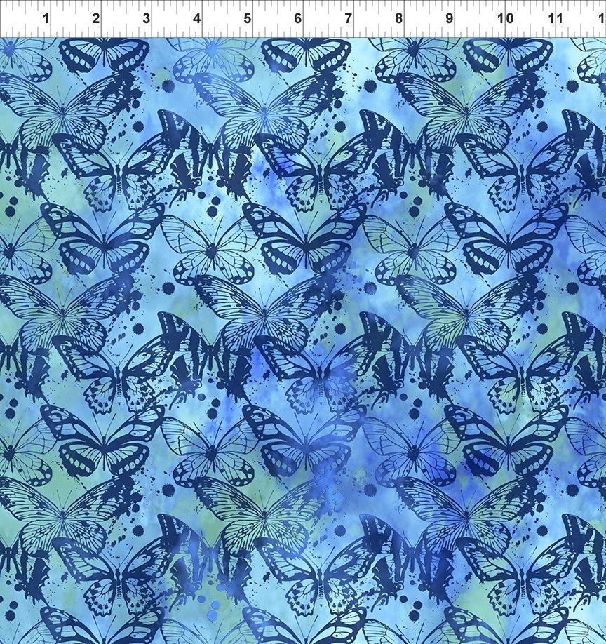 In The Beginning, 7 Season, Butterflies In Blue