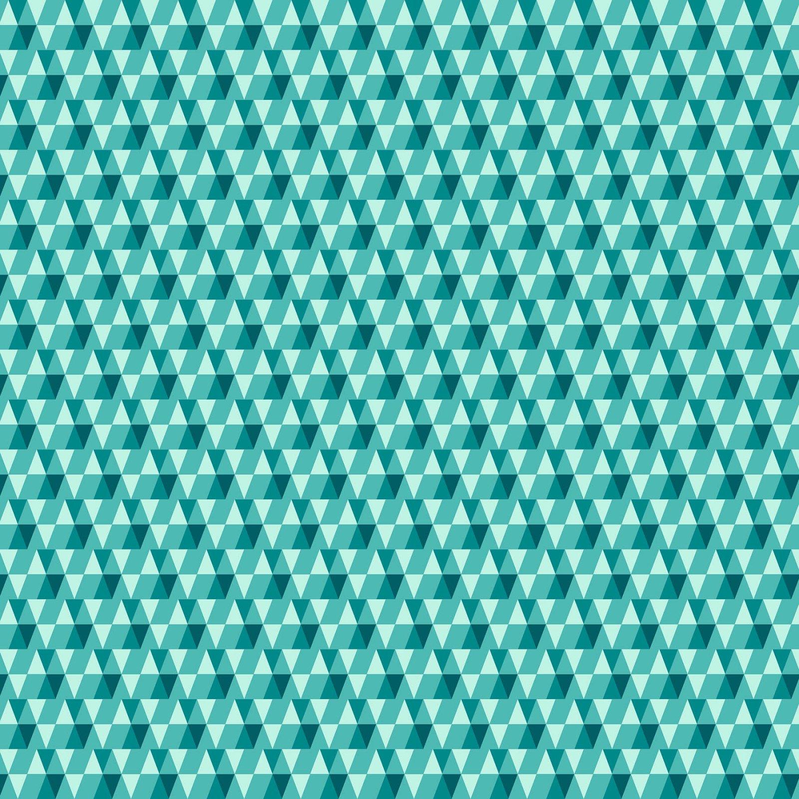 FIGO, Peppermint - Triangles Green