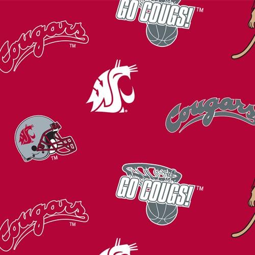 Washington State University Allover Fleece