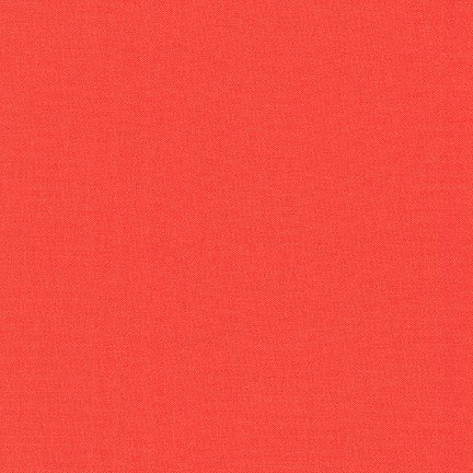 Kona Cotton Solid, Coral
