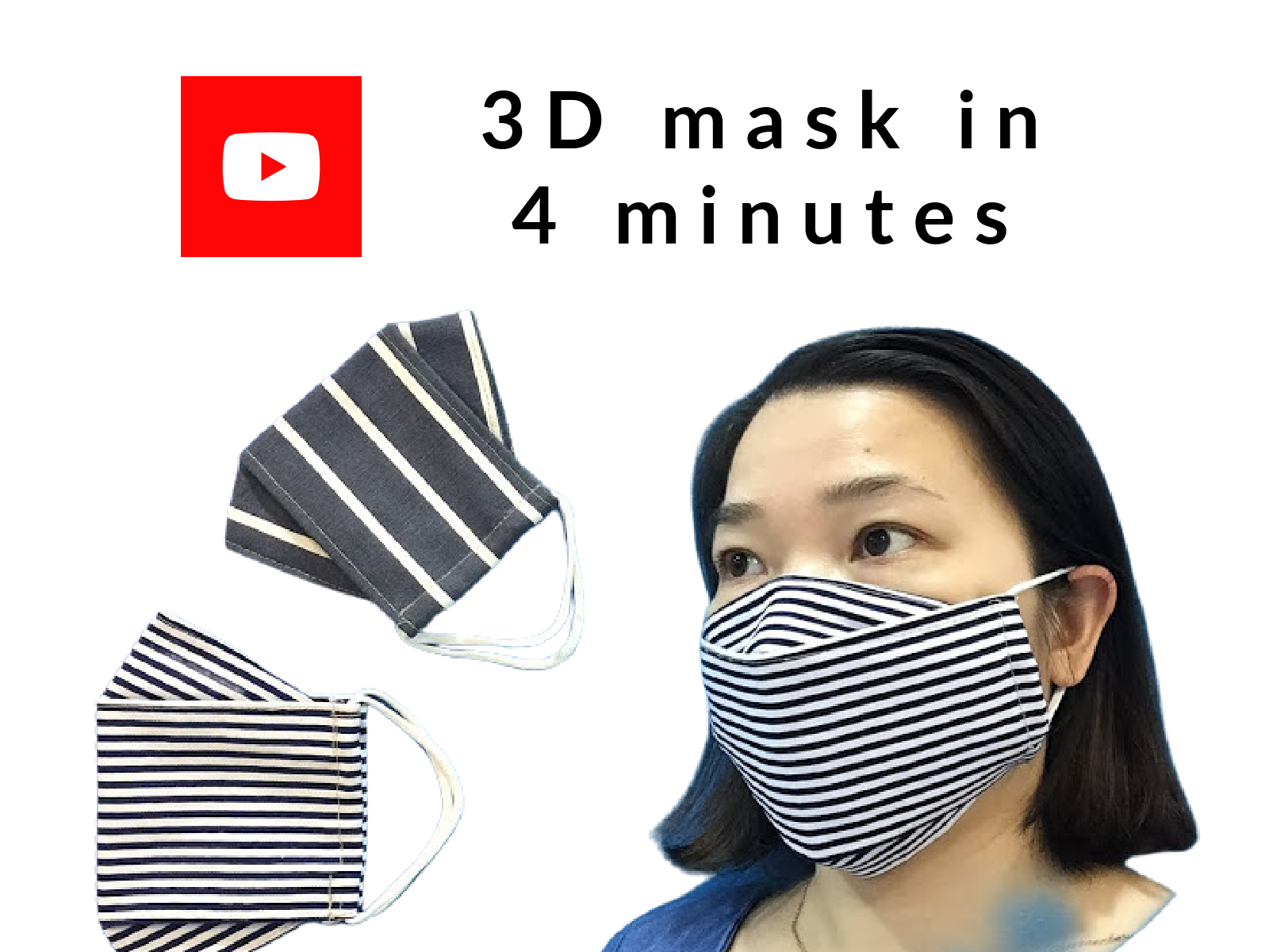 3 D Mask In 4 Minutes!