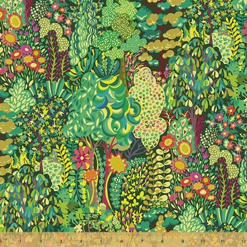 WINDHAM FABRICS, Paradiso by Sally Kelly - Avalon Midnight