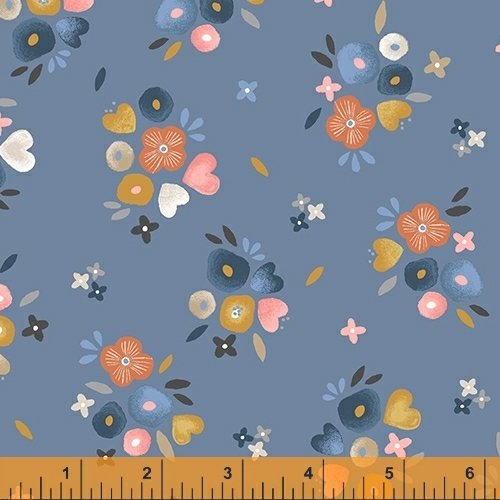 WINDHAM FABRICS, Kenzie - Baby Bouquets Dusk