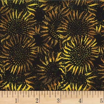 Bali Batiks Sunflower by Hoffman 884-695