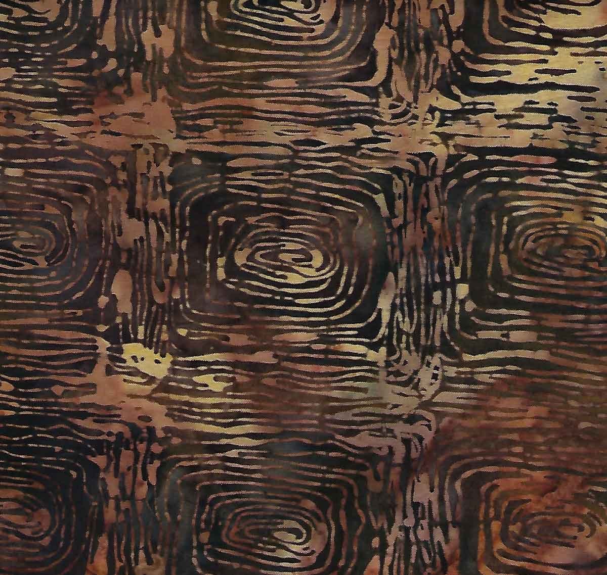 Bali Batiks Walnut by Hoffman