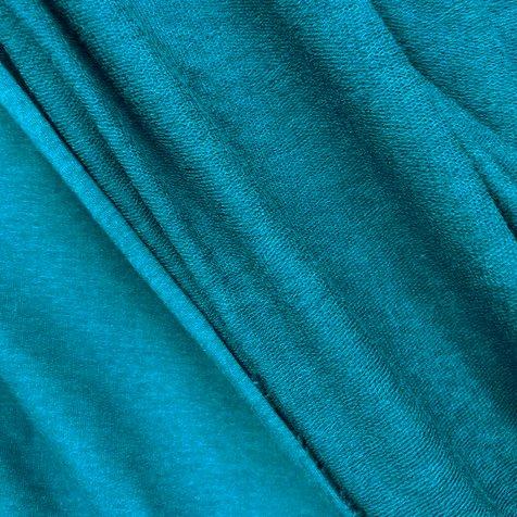 Telio OEKO TEX Certified, Bamboo French Terry Teal