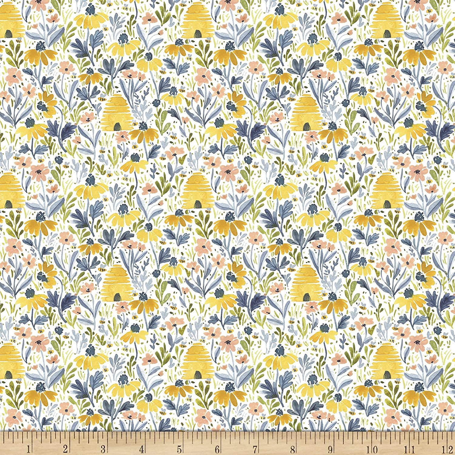 Dear Stella, Meant to Bee - Beehive Garden - White