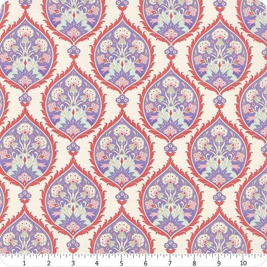 Tilda, Bon Voyage Flowerleaf Blue
