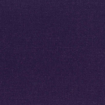 Brussels Washer  by Robert Kaufman -  Dark Purple