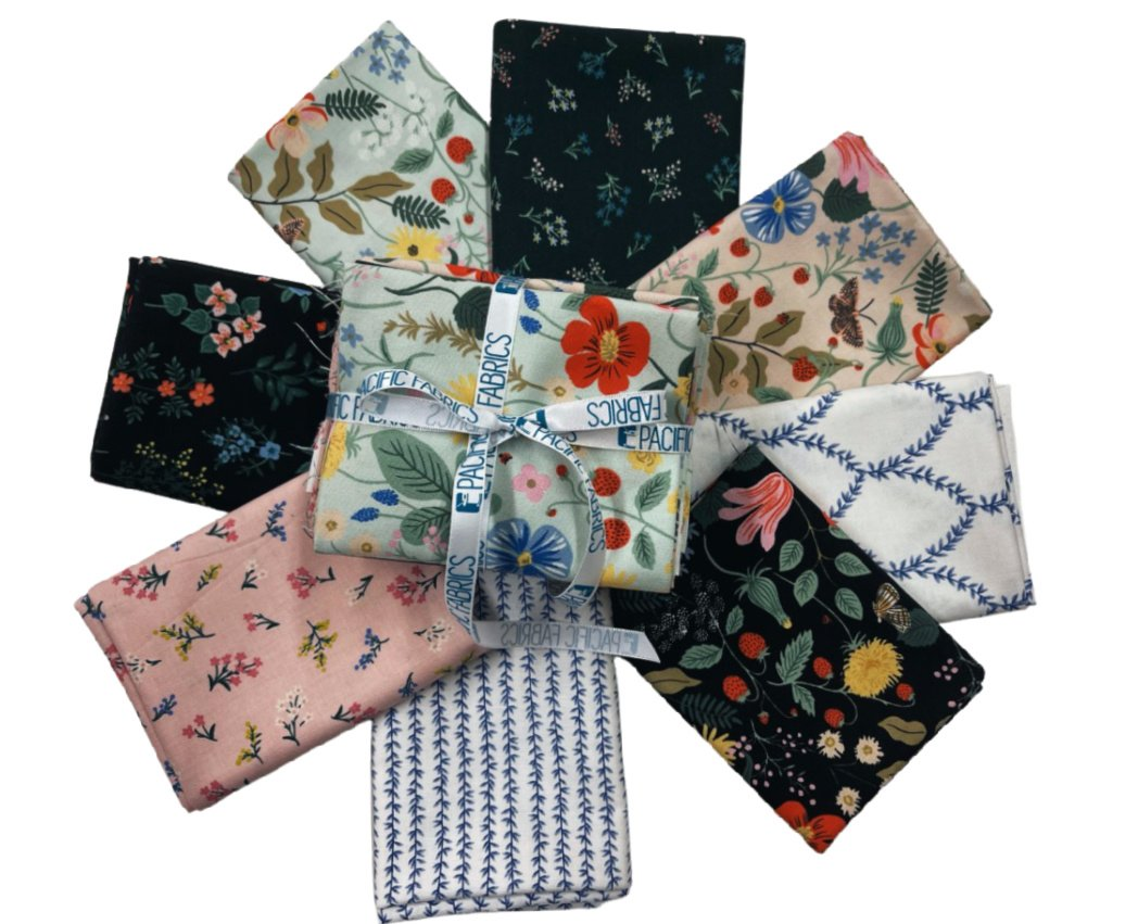 Cotton + Steel, Strawberry Fields,  Fat Quarter Bundle #2