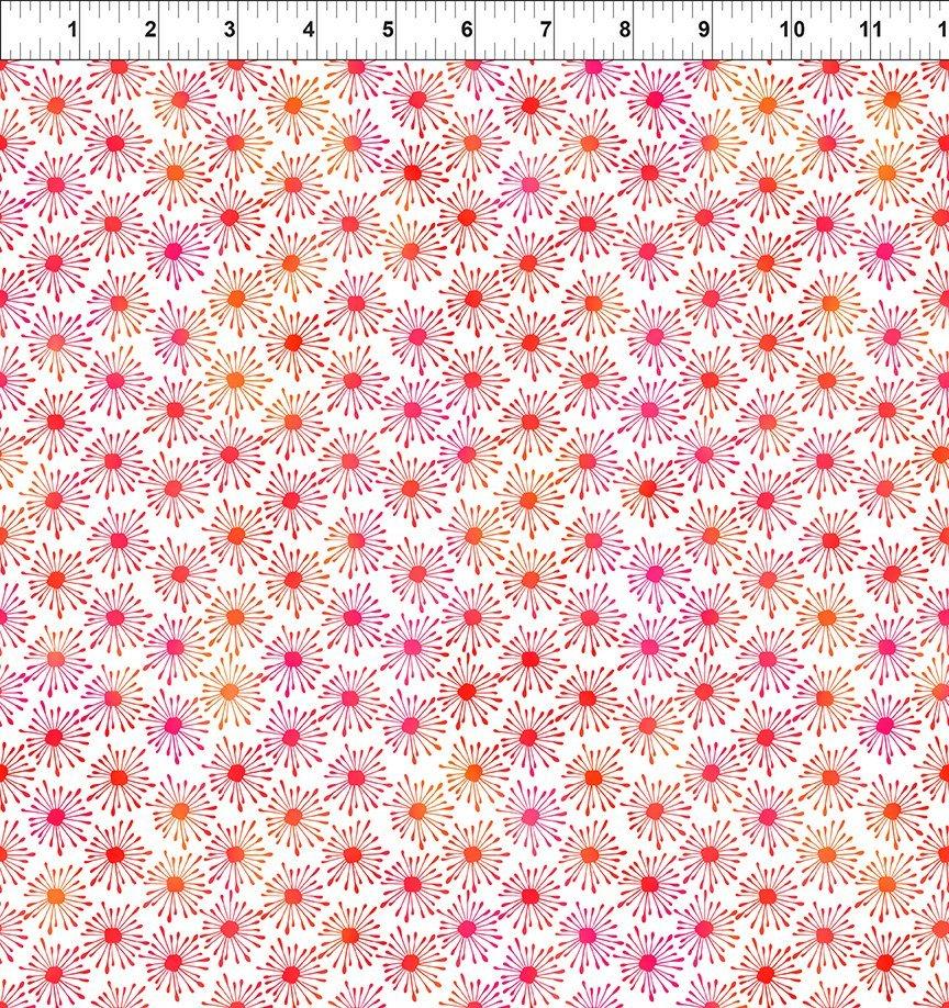 In The Beginning, Unusual Garden II - Burst Pink/White