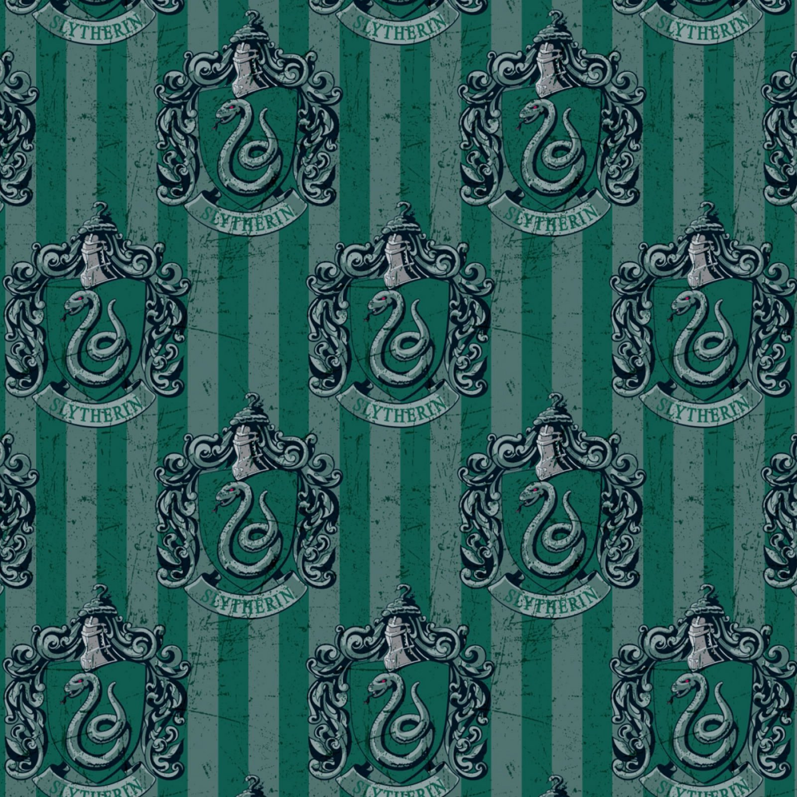 Camelot Fabrics - Harry Potter - Slytherin