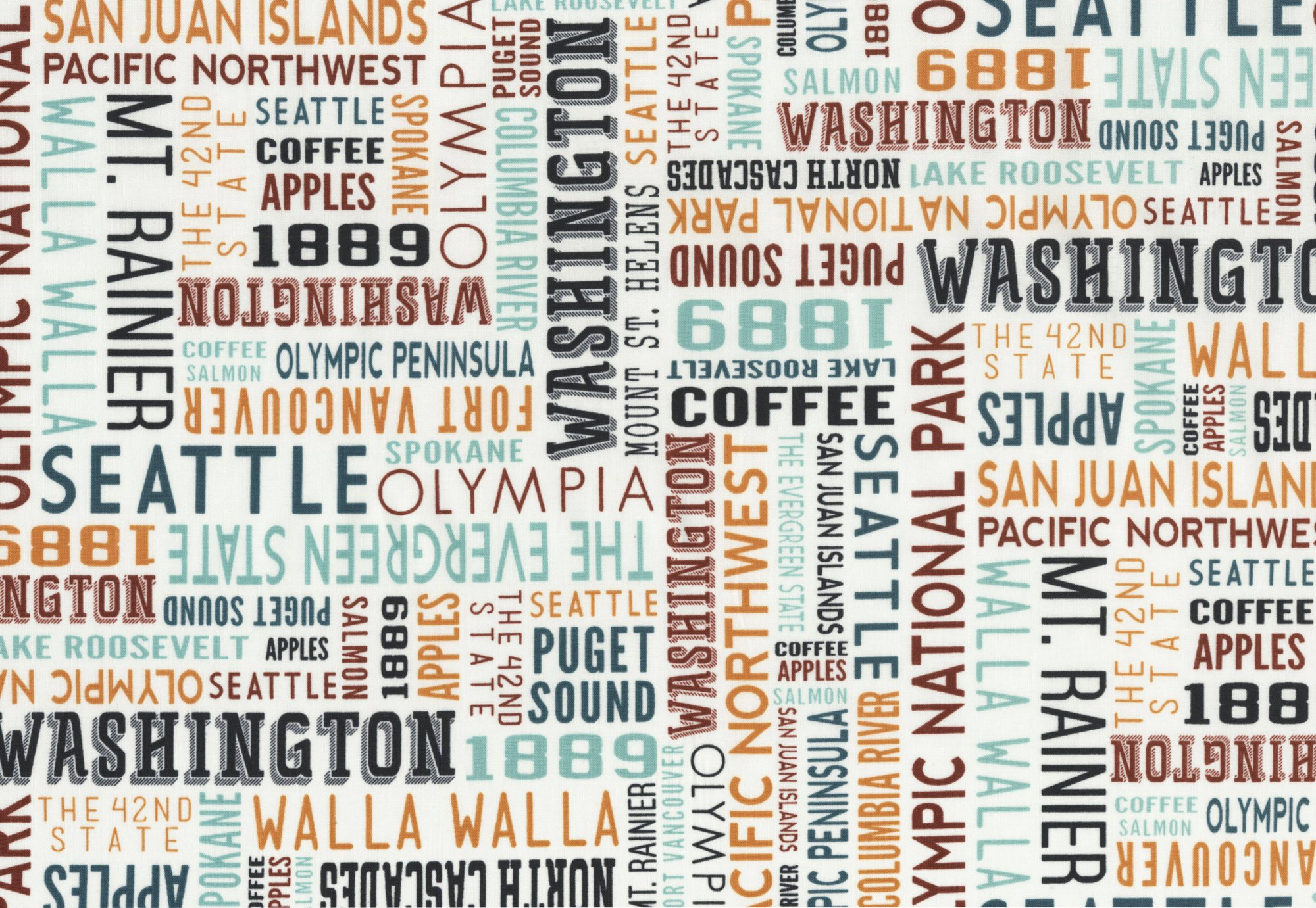 Washington Typography Multi