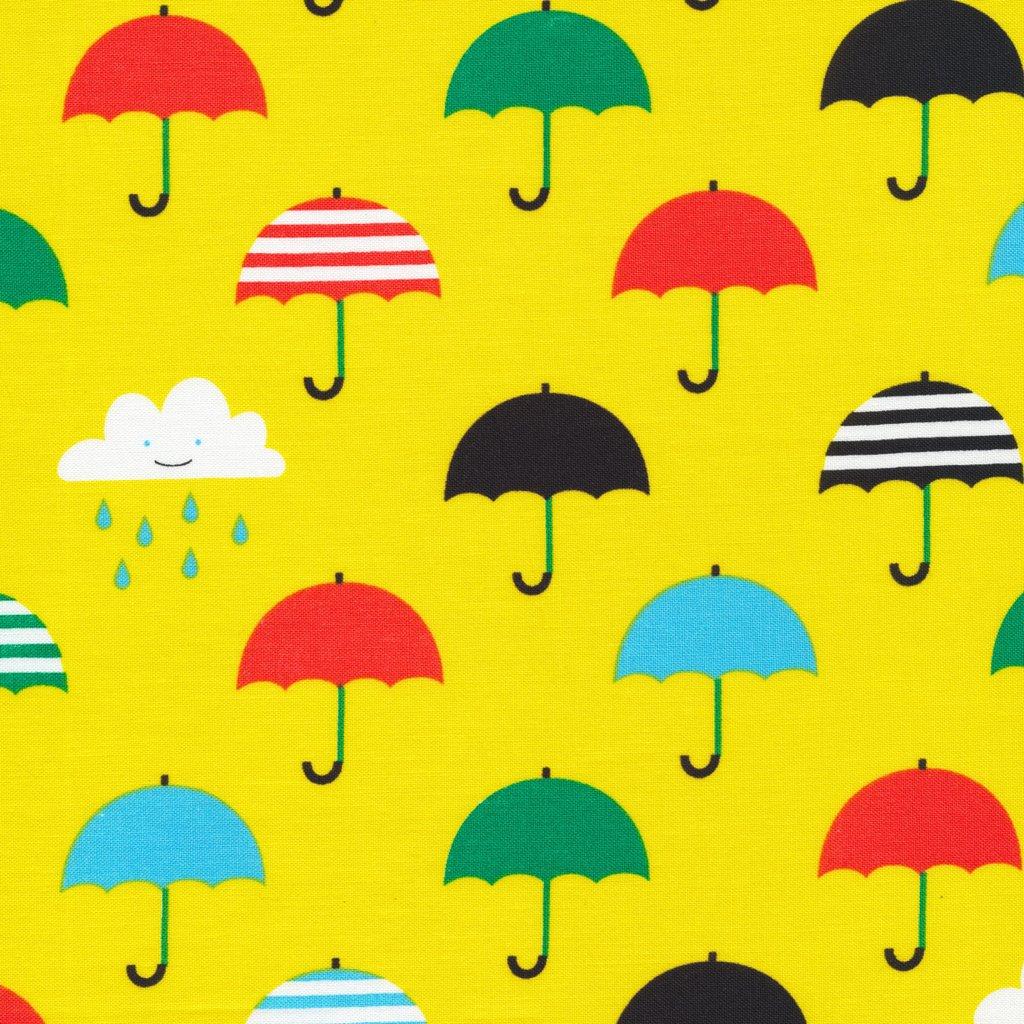 Laminate Singin' in the Rain Umbrellas Yellow