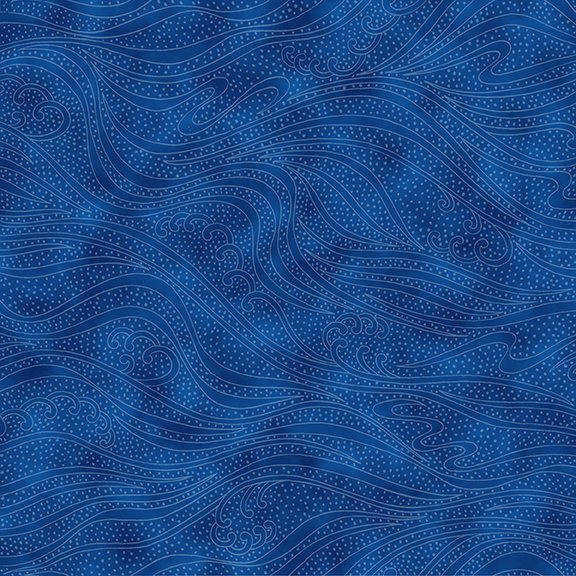 In the Beginning Color Movement  - Sapphire