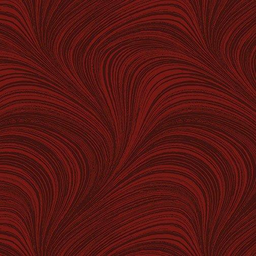 Benartex, WAVE TEXTURE, Dark Red