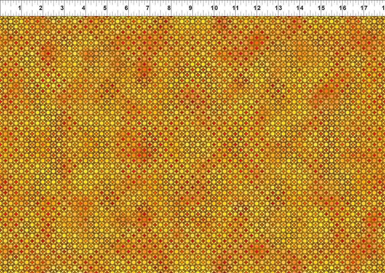 In The Beginning, Unusual Garden II - Dots Citron