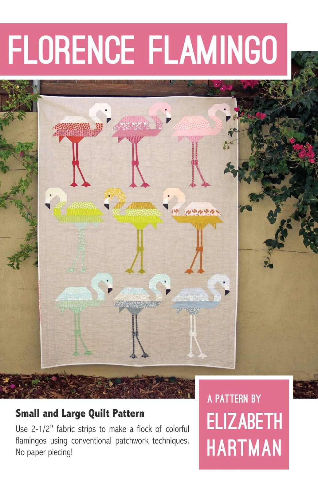 Pattern - Elizabeth Hartman - Florence Flamingo