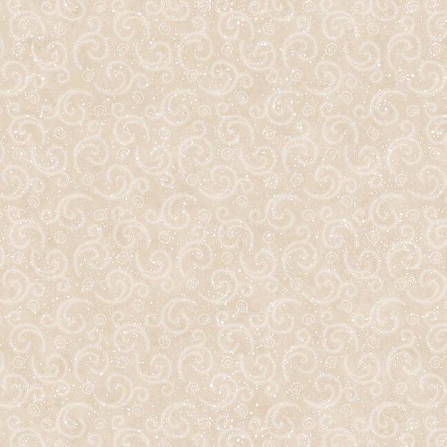 Henry Glass - Flannel I Love Sn'Gnomies  - Beige Swirl