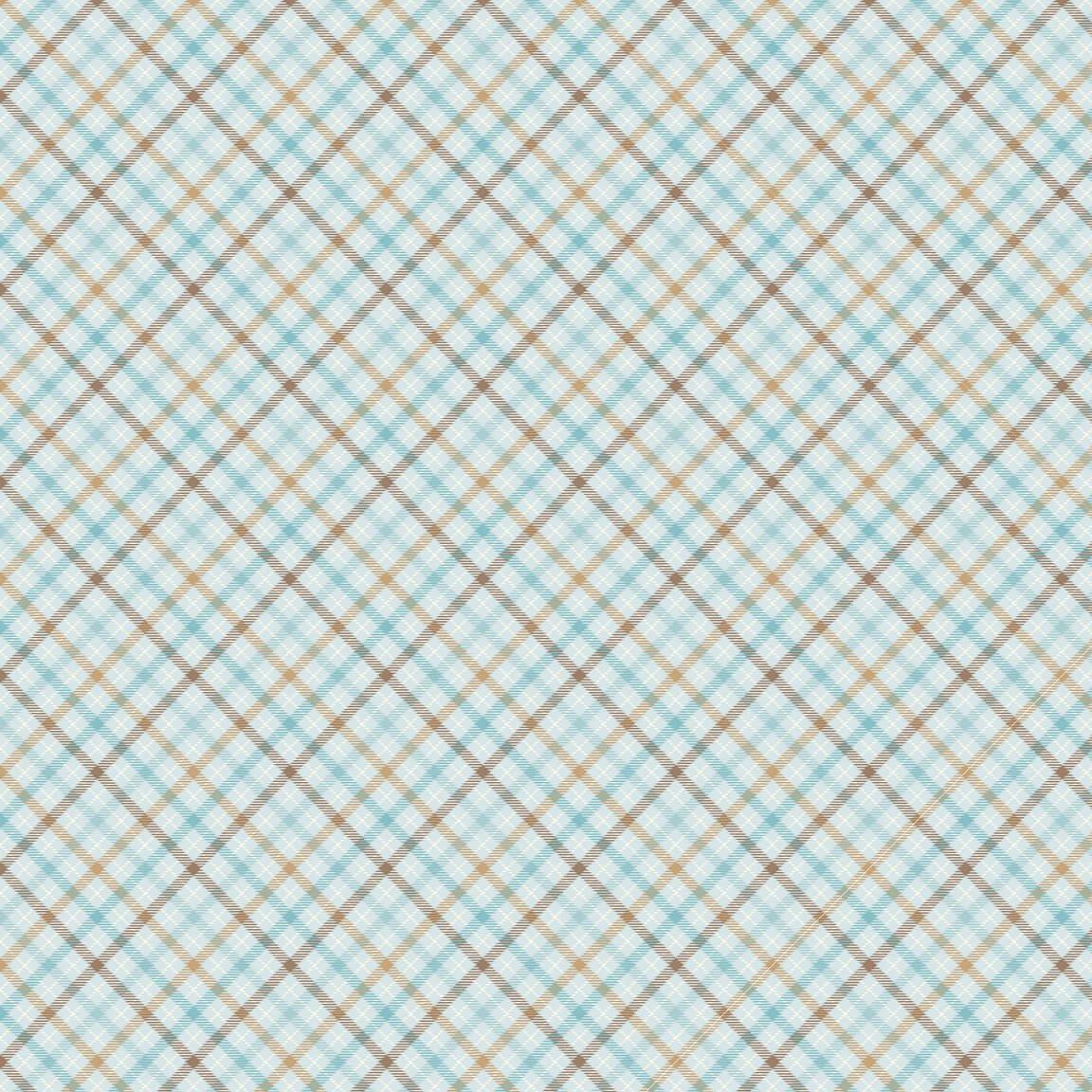Henry Glass - Flannel I Love Sn'Gnomies  - Multi Plaid