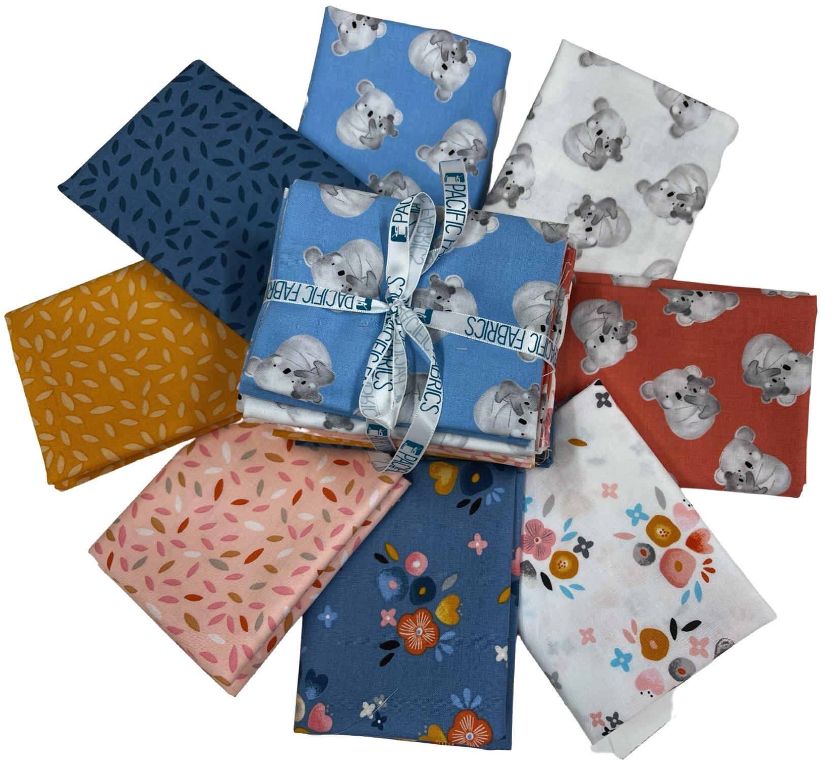Windham Fabrics, Kenzie, Fat Quarter Bundle - 8 pc