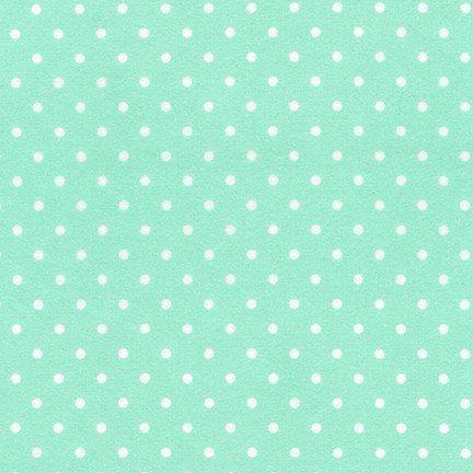 Flannel Dot Mint by Robert Kaufman