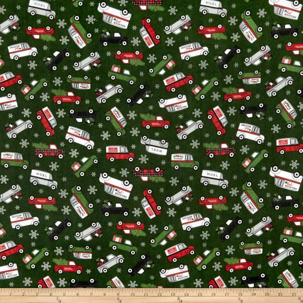 Riley Blake Flannel Christmas Delivery - FF