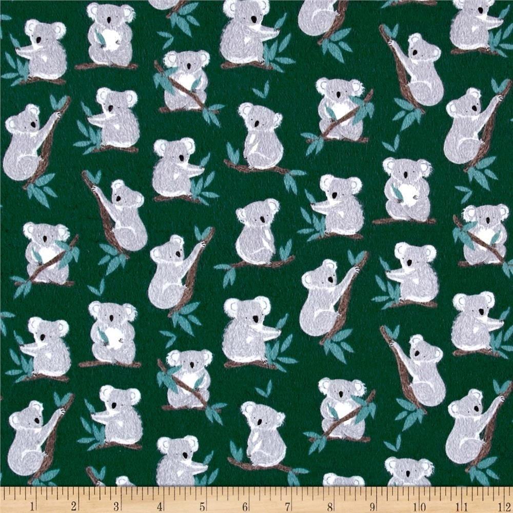 Flannel Koala Bear Forest Dear Stella -FF