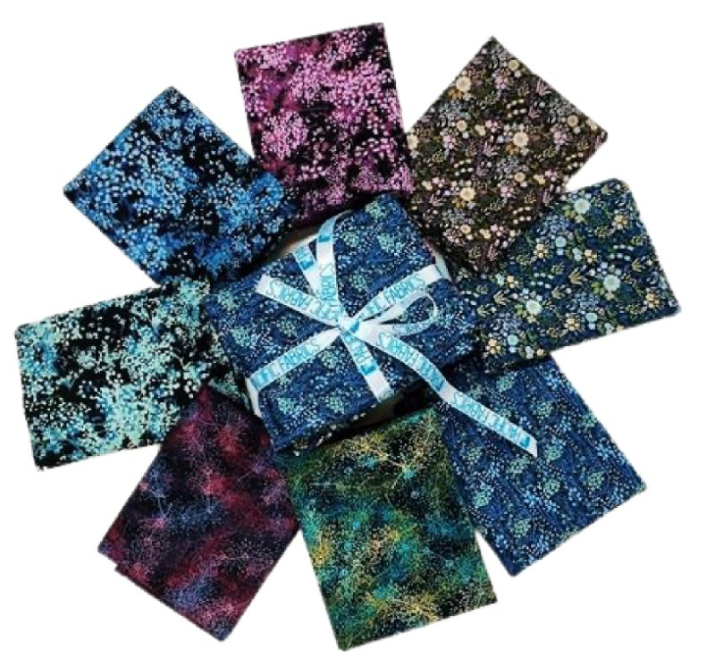 In the Beginning, Garden Delights III,  Fat Quarter Bundle #1 8 pc