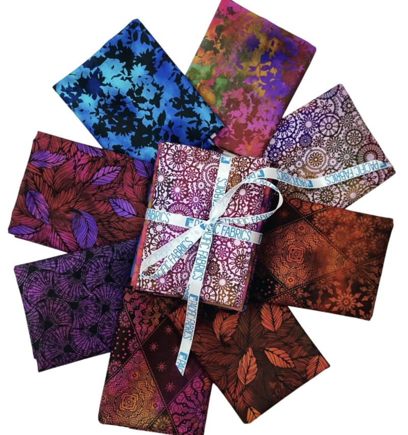 In the Beginning, Seasons  Fat Quarter Bundle #1 8 pc