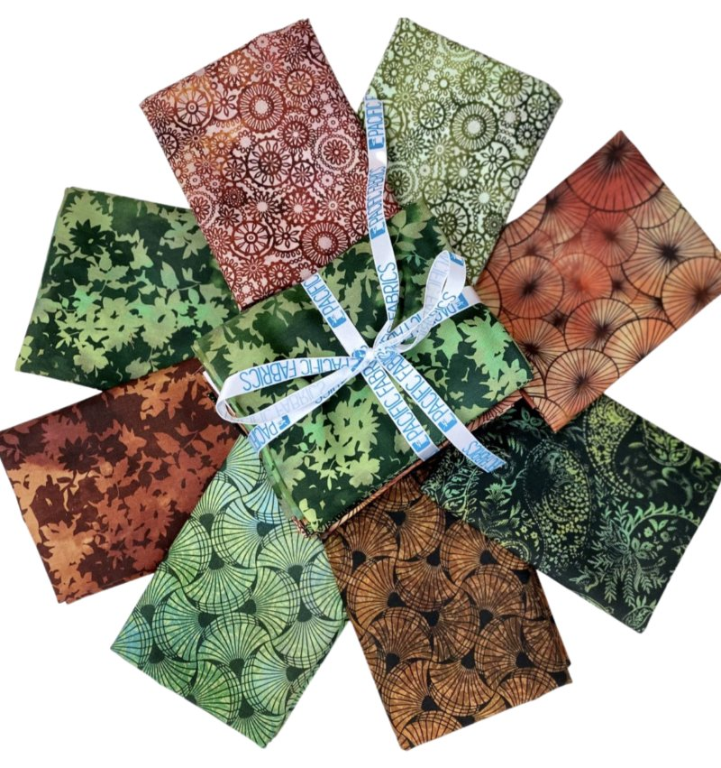 In the Beginning, Seasons  Fat Quarter Bundle #2 8 pc