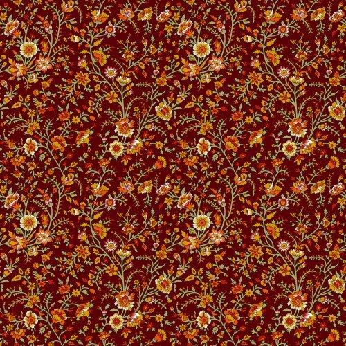 In The Beginning, Garden Delights III,  Delicate Blooms, RED