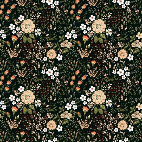 In The Beginning, Garden Delights III, Floral Medley PEACH