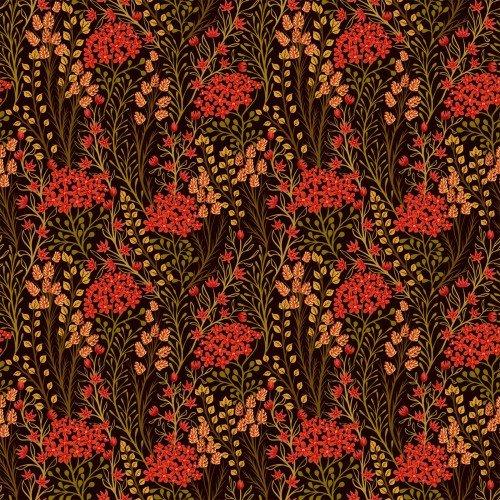 In The Beginning, Garden Delights III, Prarie Flowers RED