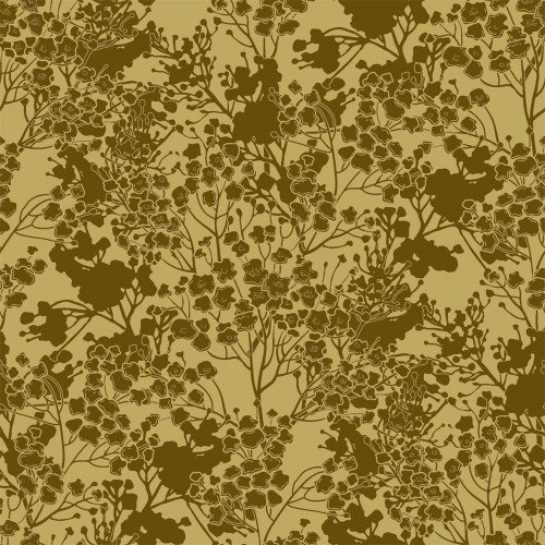 In The Beginning, Garden Delights III, Tonal Floral GOLD