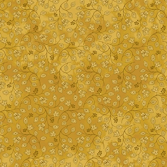 Henry Glass, Jacobean Joyeux - Gold Mini Bud