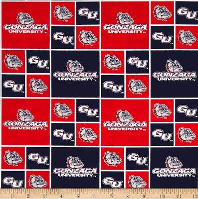 University of Gonzaga Patch - 100% Cotton