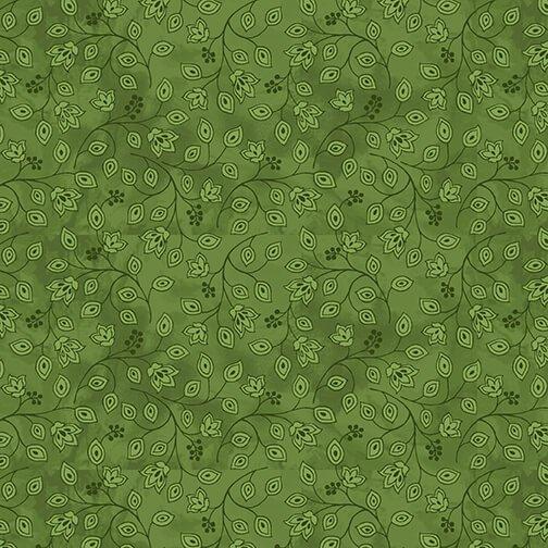 Henry Glass, Jacobean Joyeux - Green Mini Bud