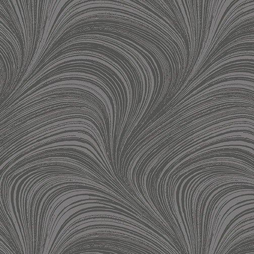 Benartex, WAVE TEXTURE, Grey