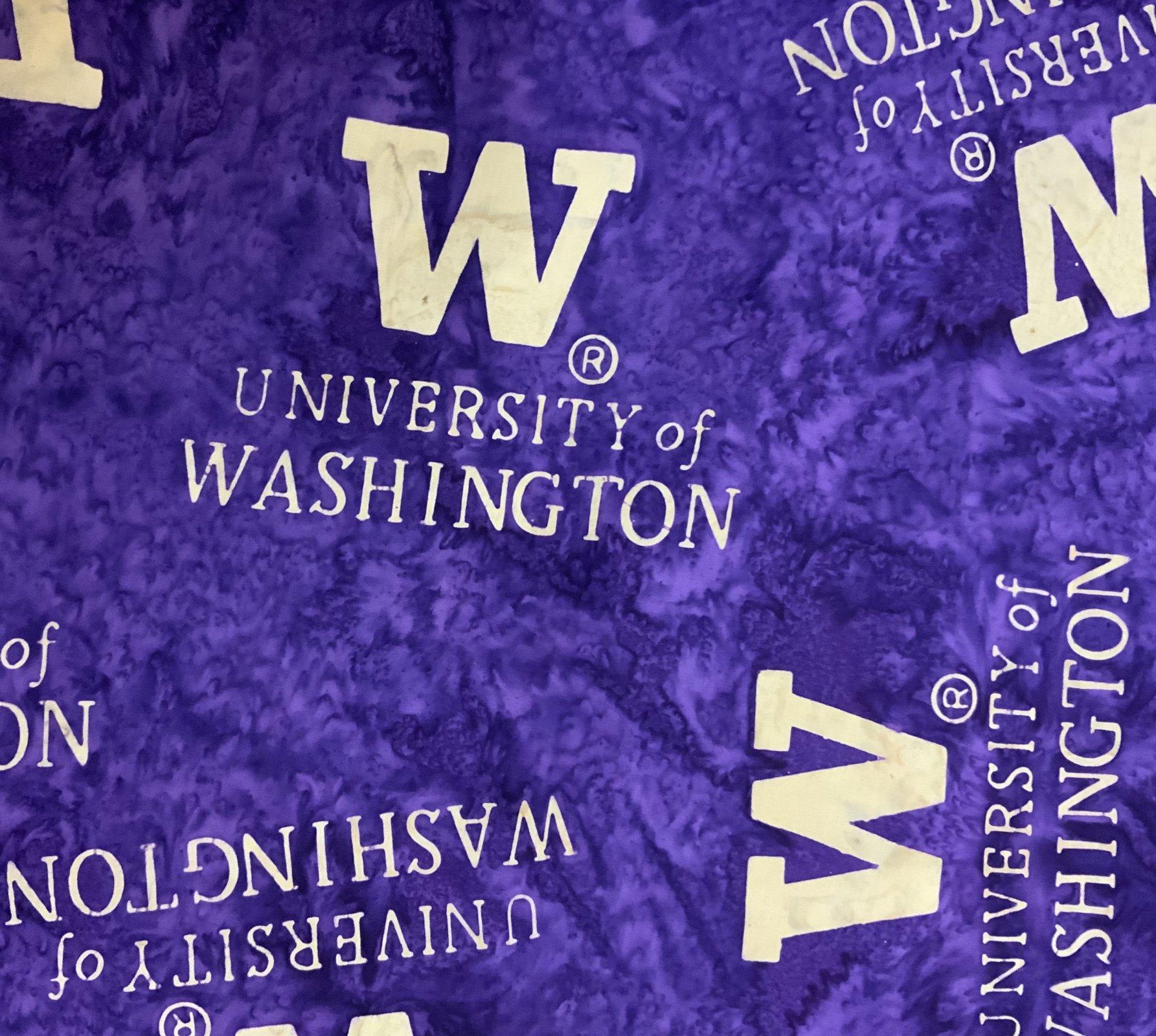 University of Washington Hoffman Batik