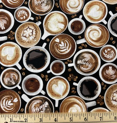 Timeless Treasures Coffee Cups