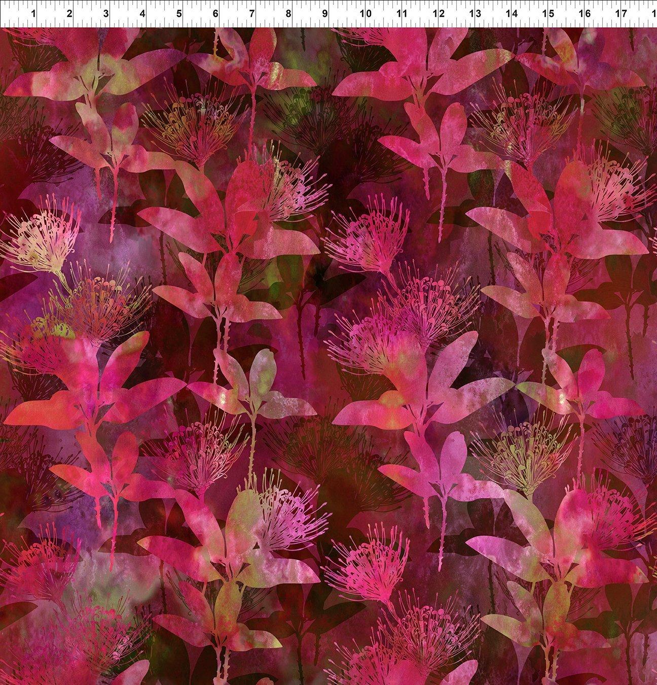 In the Beginning Australian Beauties - Magenta Floral