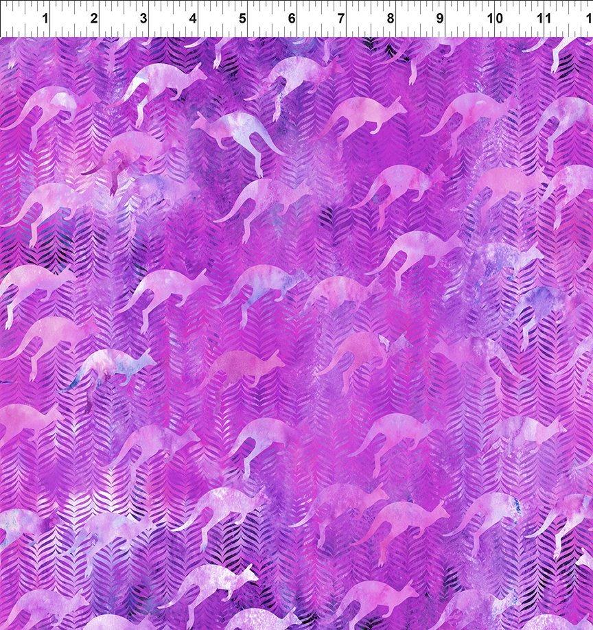 In the Beginning Australian Beauties - Purple Kangaroos
