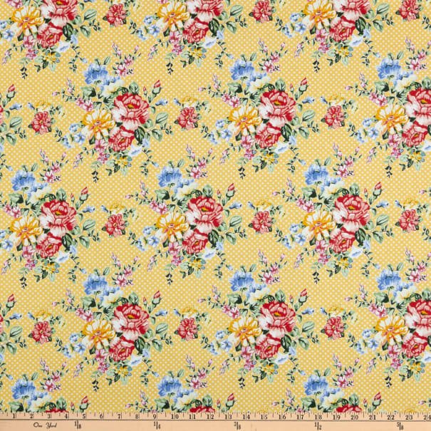 In The Beginning, Cherry Lemonade Small Bouquet Yellow