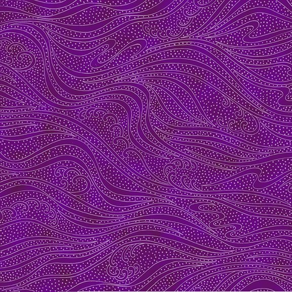 In the Beginning Color Movement  - Amethyst